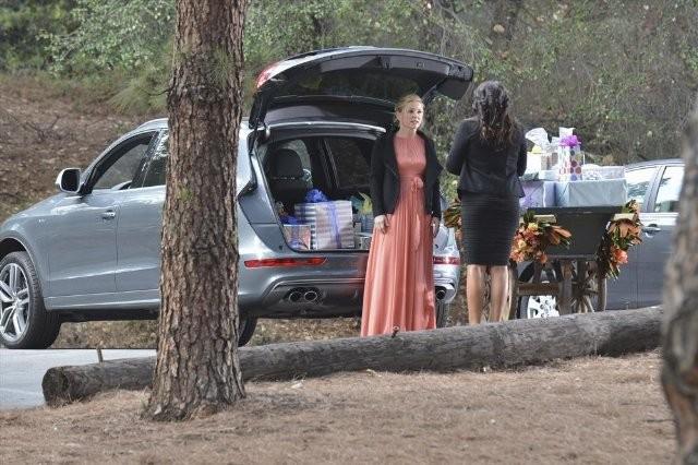 Grey's Anatomy: Jessica Capshaw e Sara Ramirez nell'episodio Take It Back