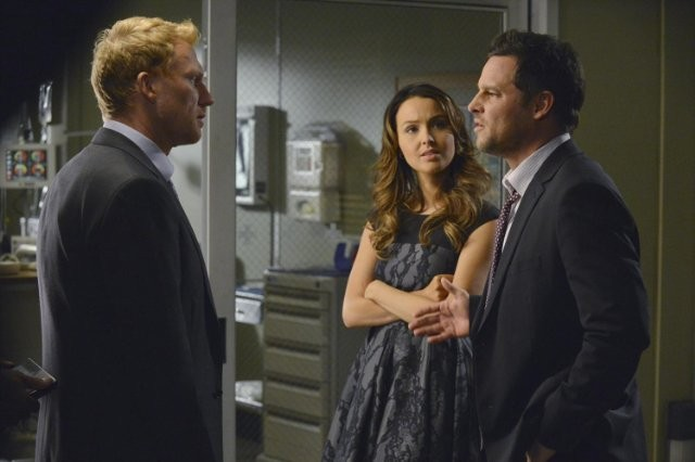 Grey's Anatomy: Kevin McKidd, Camilla Luddington e Justin Chambers nell'episodio Take It Back