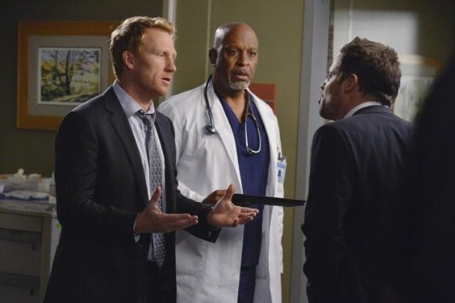 Grey's Anatomy: Kevin McKidd, James Pickens e Justin Chambers nell'episodio Take It Back