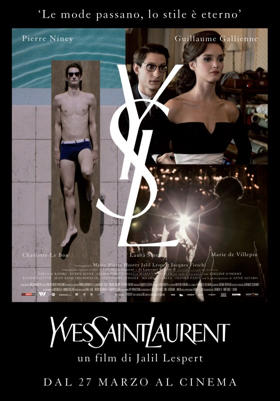 Yves Saint Laurent: la locandina italiana del film