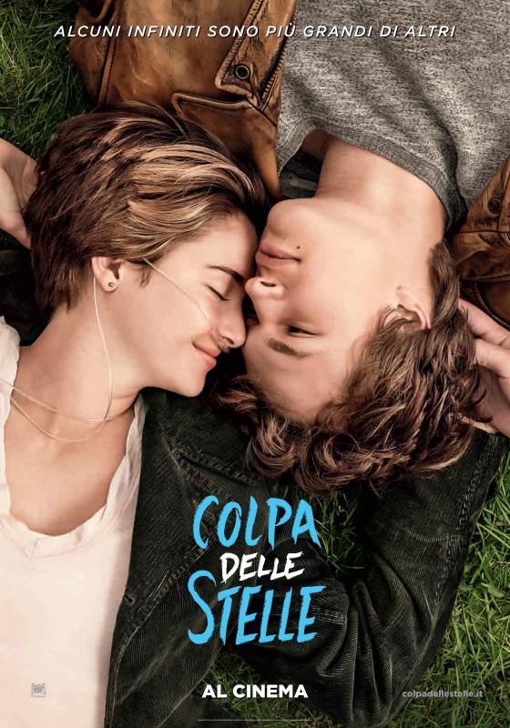 Colpa delle stelle: la locandina italiana del film