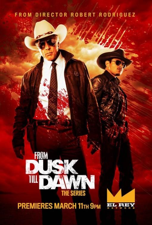 From Dusk Till Dawn: The Series: Don Johnson in un manifesto promozionale