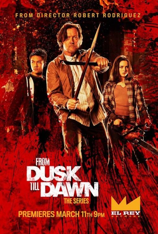 From Dusk Till Dawn: The Series: Robert Patrick e Madison Davenport in un manifesto promozionale