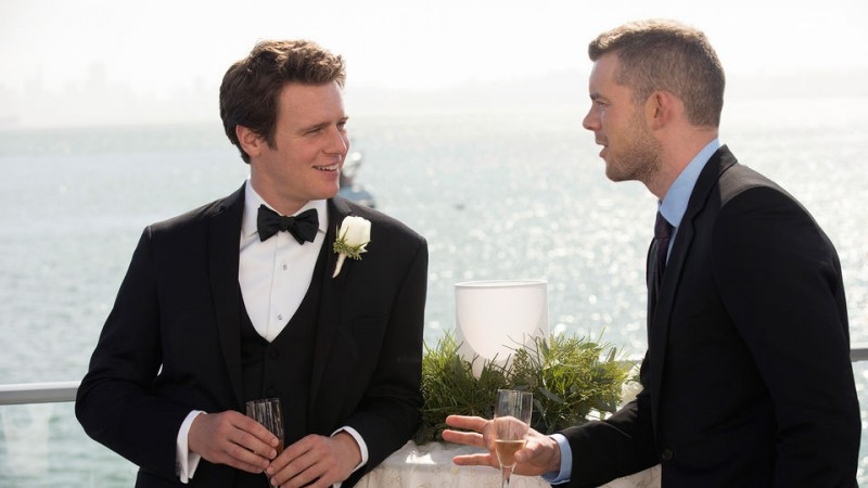 Jonathan Groff e Russell Tovey in 'Looking for a Plus One' ep. della prima stagione di Looking