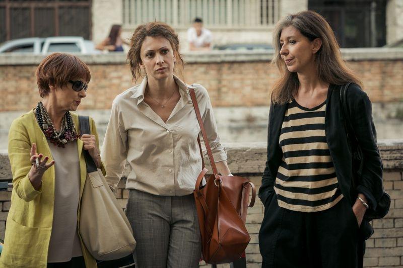 Noi 4: Ksenija Rappoport in un'immagine tratta dal film insieme a Raffaella Lebboroni e Milena Vukotic