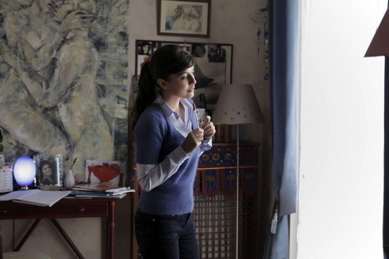 Amici come noi: Alessandra Mastronardi in una scena del film