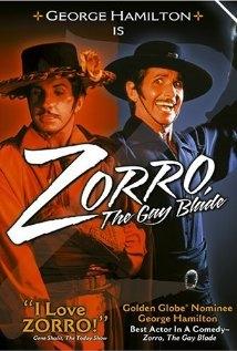 Zorro mezzo e mezzo: la locandina del film
