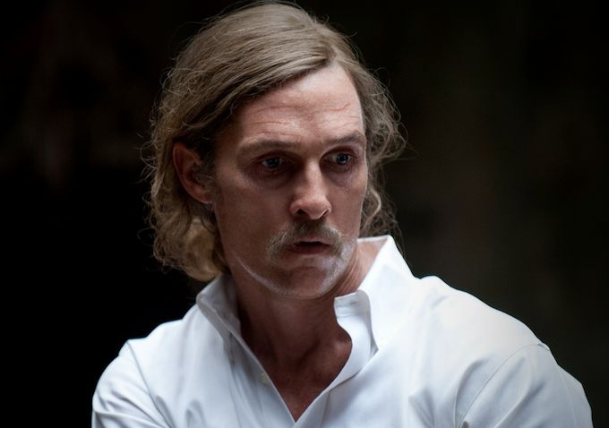 Matthew McConaughey in una scena dell'episodio 8 di True Detective, Form and Void