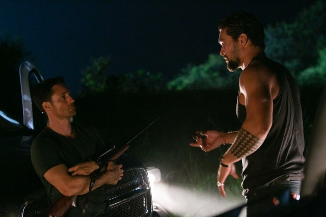 The Red Road: Martin Henderson e Jason Momoa nella serie