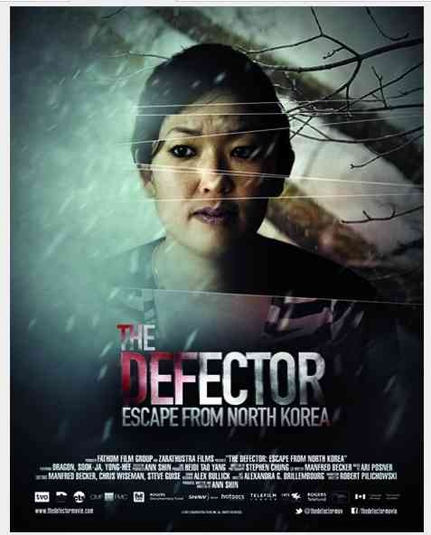 The Defector: Escape from North Korea: la locandina del film