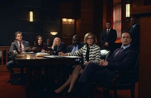 The Good Wife: il cast dello show nell'episodio Parallel Construction, Bitches
