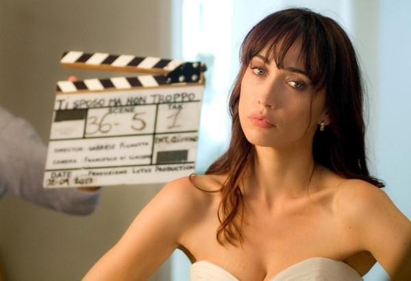 Ti sposo ma non troppo: Chiara Francini in una foto dal set