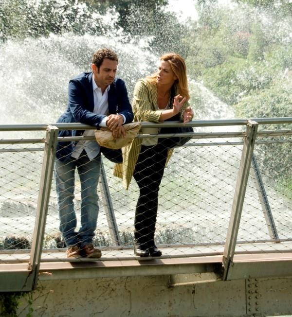 Ti sposo ma non troppo: Gabriele Pignotta e Vanessa Incontrada chiacchierano sul set del film