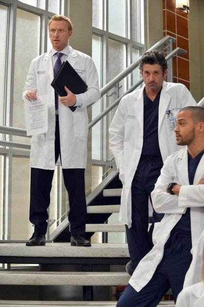 Grey's Anatomy: Kevin McKidd e Patrick Dempsey nell'episodio You've Got to Hide Your Love Away