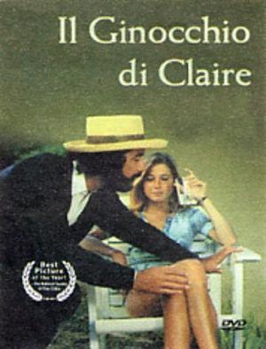 Il ginocchio di Claire: la locandina del film