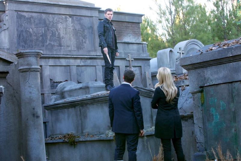 The Originals: Joseph Morgan, Claire Holt e Daniel Gillies in Farewell to Storyville
