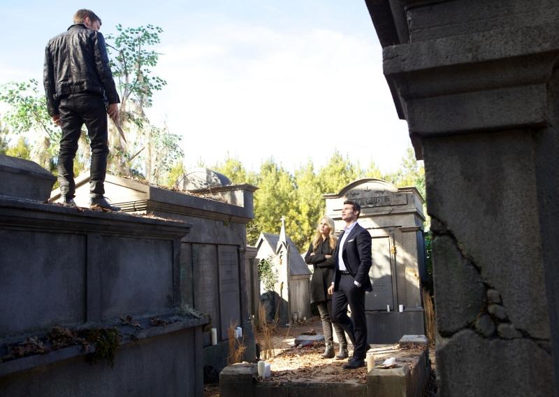 The Originals: Joseph Morgan con Claire Holt e Daniel Gillies in Farewell to Storyville