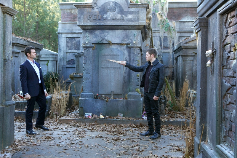 The Originals: Joseph Morgan insieme a Daniel Gillies in Farewell to Storyville