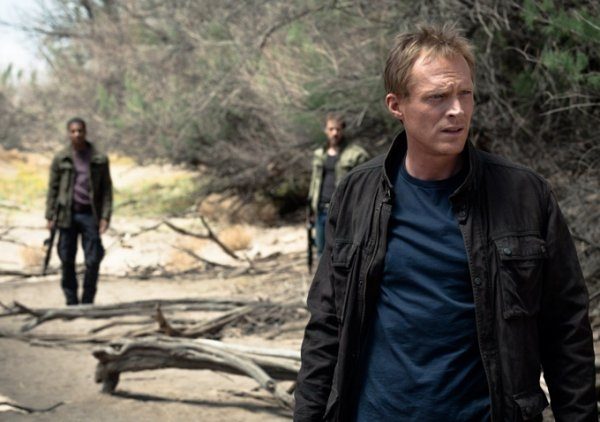 Transcendence: Paul Bettany in una drammatica scena