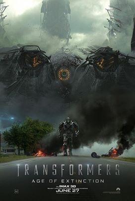 Transformers: Age of Extinction - Una nuova inquietante locandina