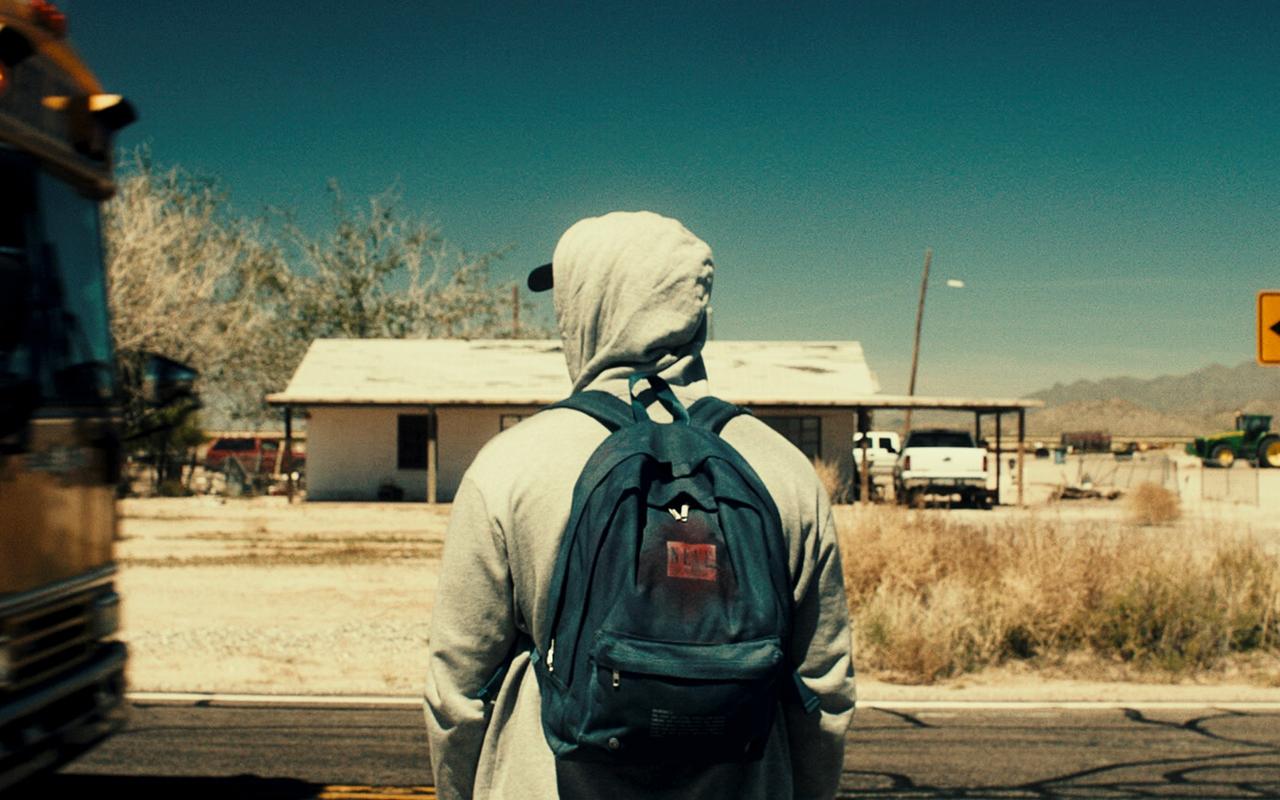 L'impostore: Adam O'Brian in una scena del film