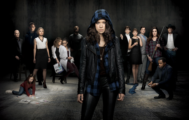 Orphan Black: il cast in un manifesto promozionale per la seconda stagione