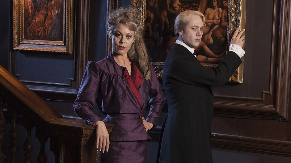 Inside No. 9: Helen McCrory e Reece Shearsmith nell'episodio The Harrowing