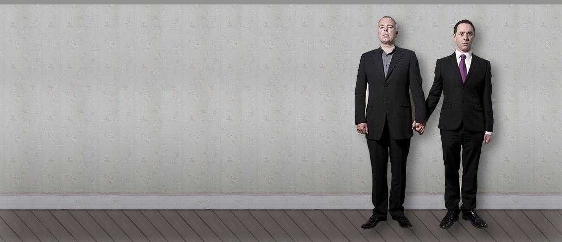 Inside No. 9: Steve Pemberton e Reece Shearsmith in una immagine promozionale