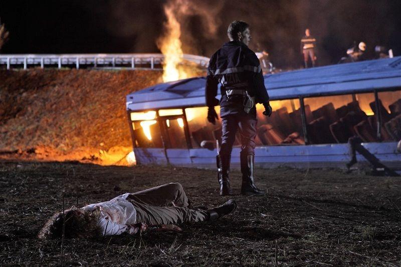 Nottetempo: Giorgio Pasotti in una drammatica scena del film