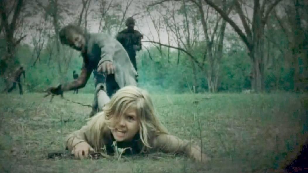 The Walking Dead: la piccola Kyla Kenedy in pericolo nell'episodio Il bosco
