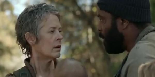 The Walking Dead: Melissa Suzanne McBride e Chad L. Coleman nell'episodio Il bosco
