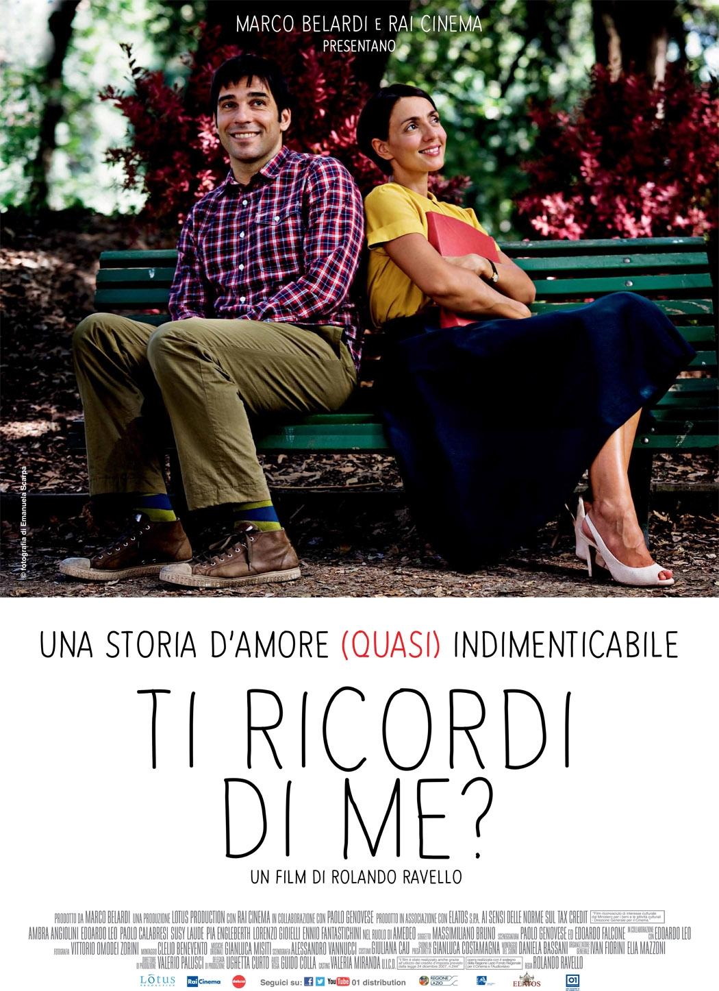 Ti ricordi di me?: il poster del film