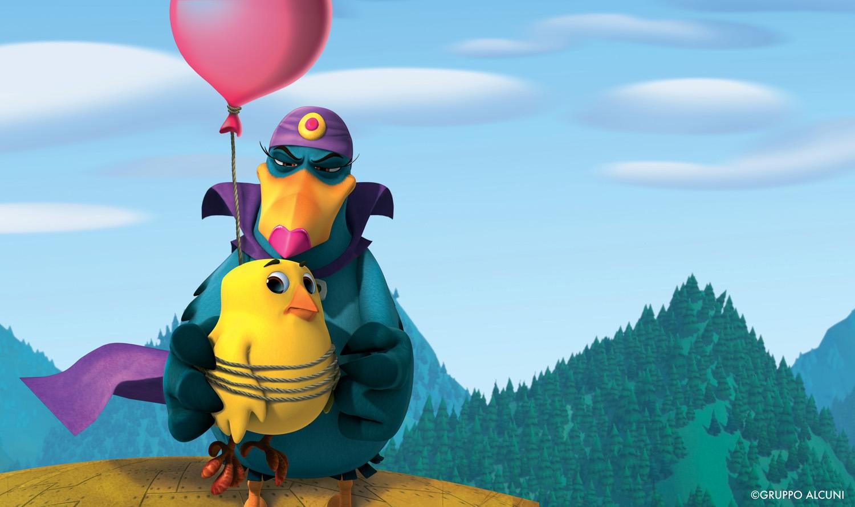 Cuccioli - Il paese del vento: una scena tratta dal film d'animazione