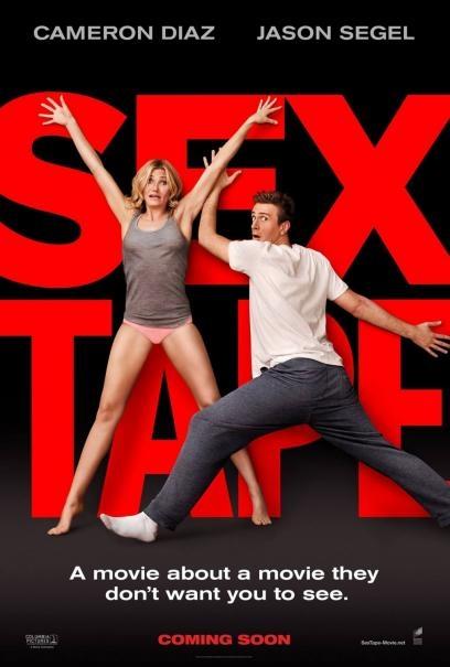 Sex Tape - Finiti in rete: la locandina del film