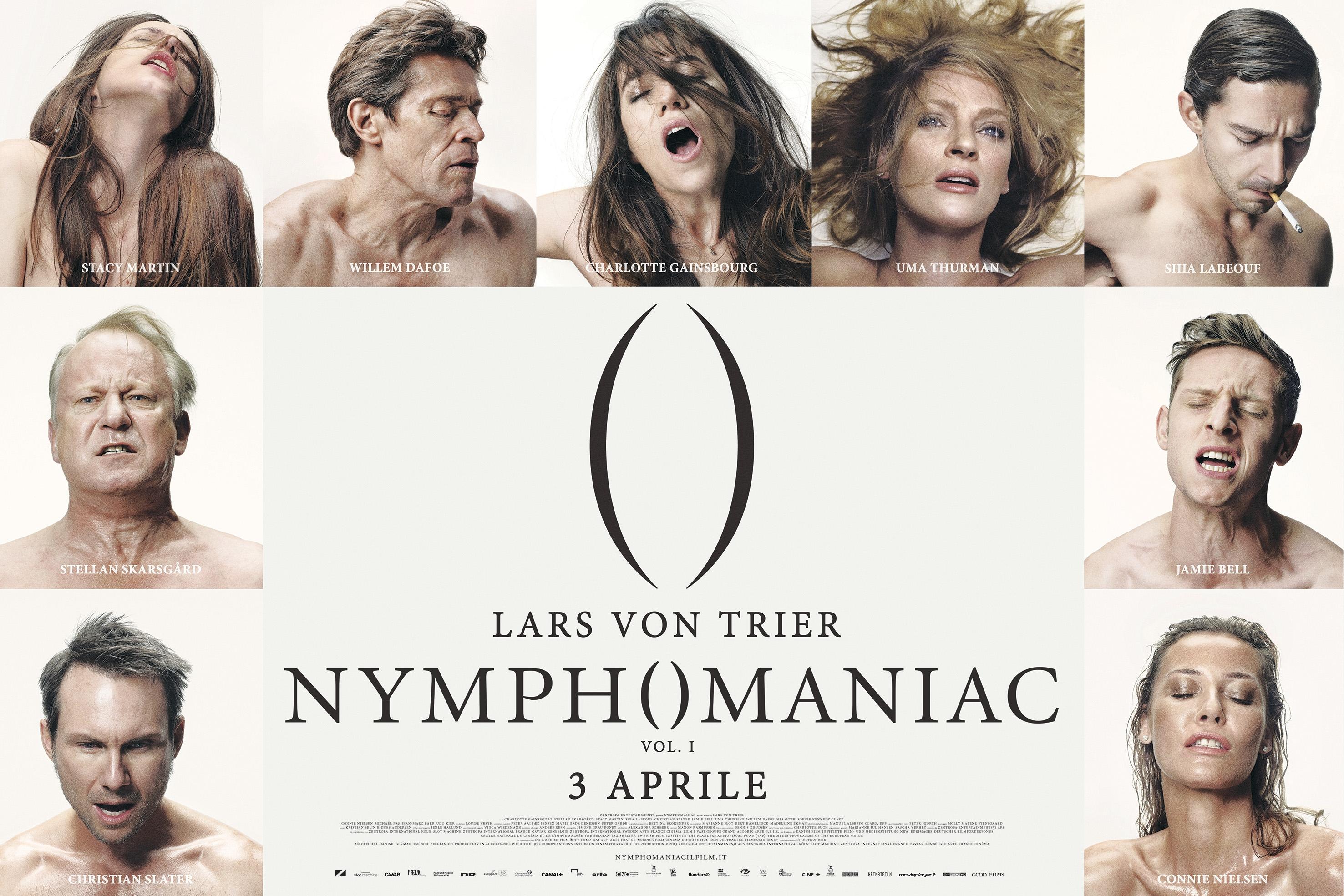 The Nymphomaniac - Part 1: il poster orizzontale italiano ufficiale