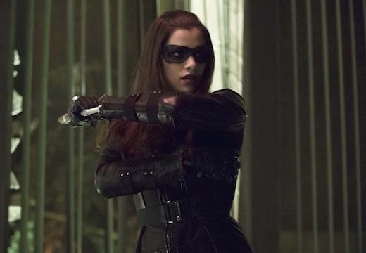 Arrow: Jessica de Gouw in una scena dell'episodio Birds of Prey