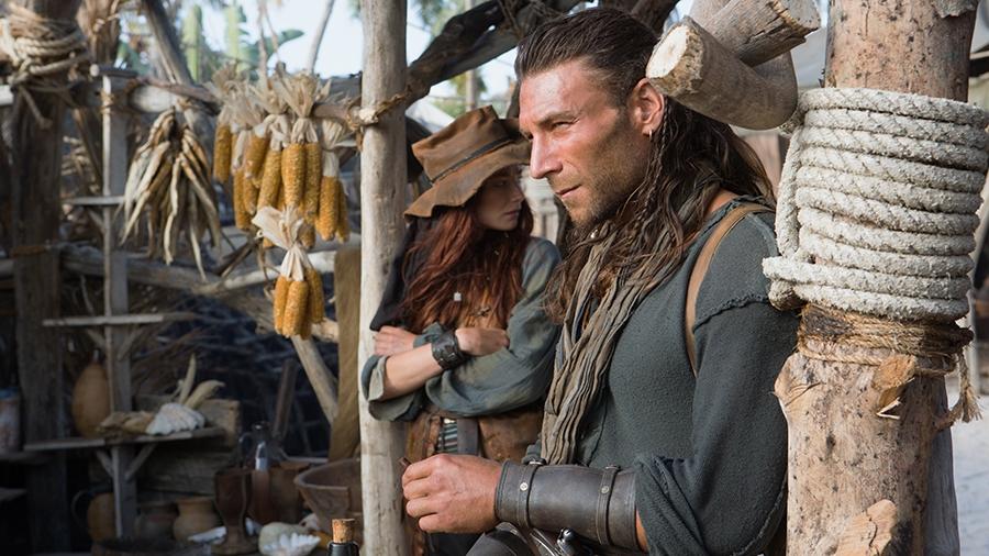 Black Sails: Zac McGowan nel terzo episodio della prima stagione