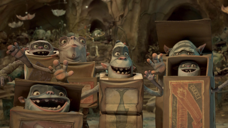 Boxtrolls - Le scatole magiche: mostriciattoli animati in una delle prime immagini del film
