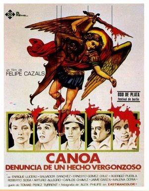 Canoa: la locandina del film