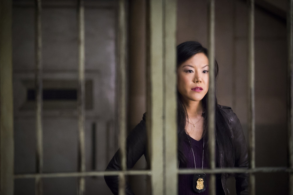 Hannibal: Hettienne Park nell'episodio Takiawase