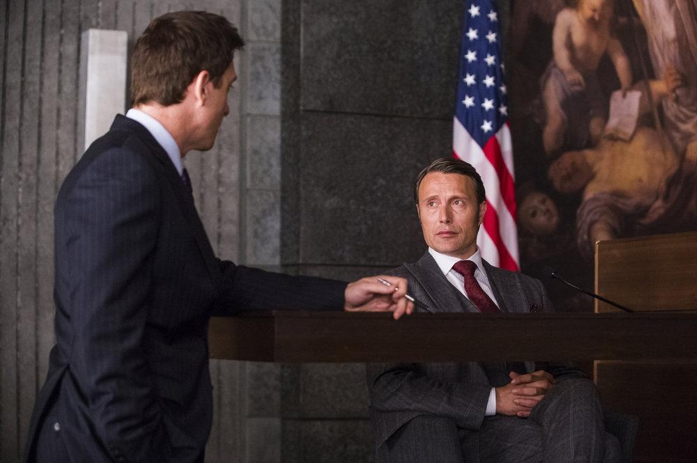 Hannibal: Mads Mikkelsen nell'episodio Hassun