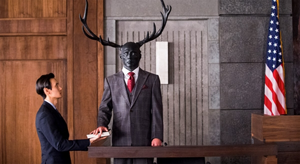 Hannibal: una scena dell'episodio Hassun