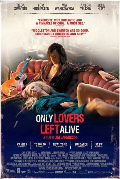 Only Lovers Left Alive: la nuova locandina USA del film