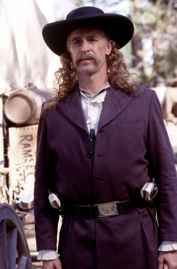 Deadwood:  Keith Carradine in un'immagine della prima stagione