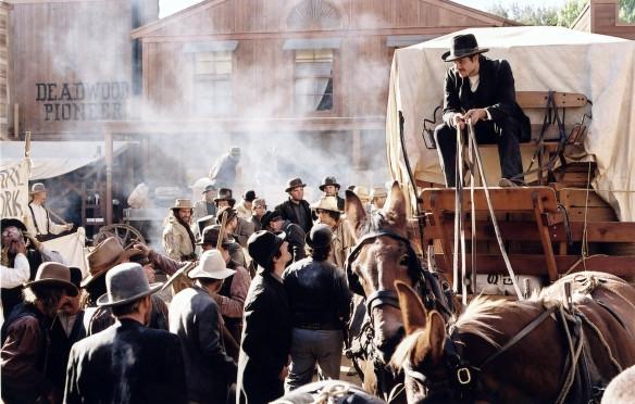Deadwood: un'immagine della prima stagione