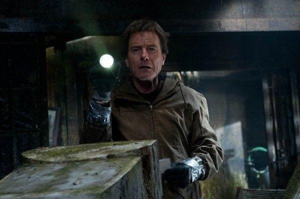 Godzilla: Bryan Cranston appare spaventato