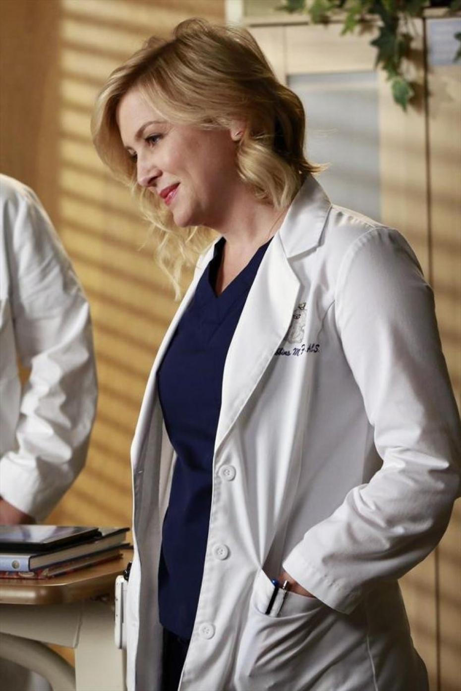 Grey's Anatomy: Jessica Capshaw nell'episodio Throwing It All Away