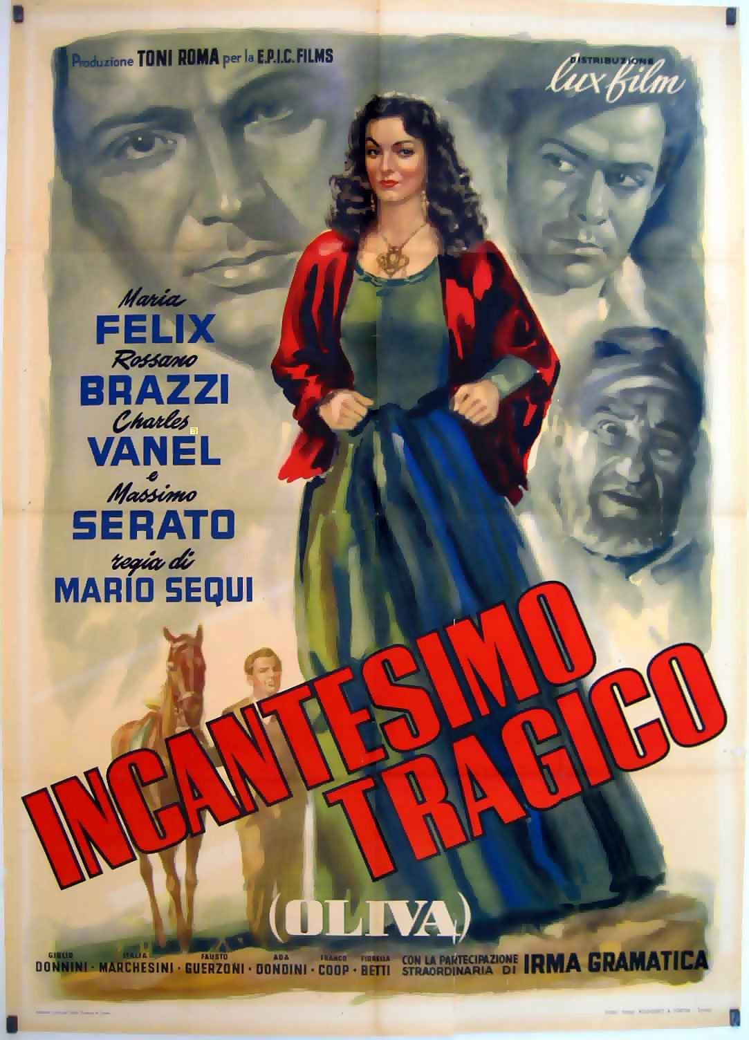 Incantesimo tragico: la locandina del film
