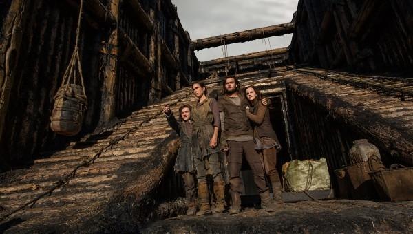 Noah: Douglas Booth, Emma Watson, Jennifer Connelly e Gavin Casalegno sull'arca
