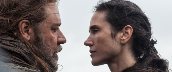 Noah: i primi piani di Russell Crowe e Jennifer Connelly